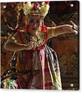 Beauty Of The Barong Dance 2 Acrylic Print