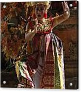 Beauty Of The Barong Dance 3 Acrylic Print