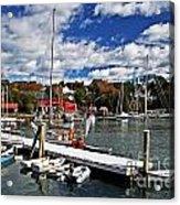 Beauty Of The Harbor Acrylic Print