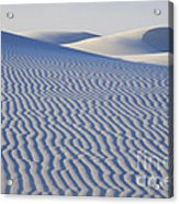 Patterns White Sands New Mexico Acrylic Print