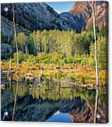 Beaver Lake Sierra Nevada Mountains Acrylic Print