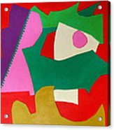 Bebop Acrylic Print by Diane Fine