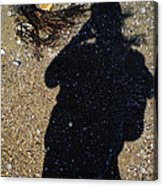 Becoming One With The Beach Stones Acrylic Print