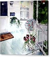 Bed And Breakfast Acrylic Print