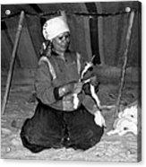 Bedouin Woman Acrylic Print