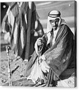 Bedouins In Jordan Acrylic Print
