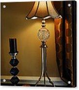 Bedroom Lamp Acrylic Print