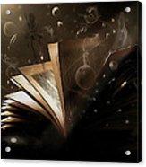 Bedtime Stories Acrylic Print by Hazel Billingsley