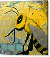 Bee Aware Acrylic Print