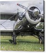 Beechcraft Staggerwing Acrylic Print
