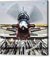 Beechcraft T-6a Texan II D Acrylic Print