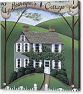 Beekeeper's Cottage Acrylic Print