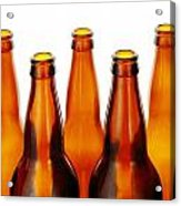 Beer Bottles Acrylic Print