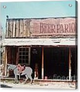 Beer Parlor Acrylic Print