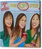 Beer Pong Champs Acrylic Print