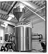 Beer Tank Install Acrylic Print