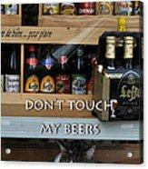 Beers Warden Acrylic Print