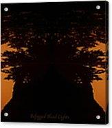 Befogged Head Lights Acrylic Print