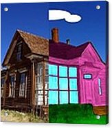 Before And After House Acrylic Print