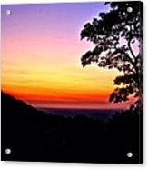Zambia - Just Before Sunrise  Acrylic Print