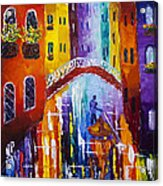 Before The Midnight  Acrylic Print