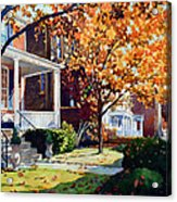 Before The Snow Falls Acrylic Print