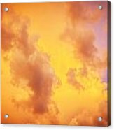 Before The Storm Clouds Stratocumulus 10 Acrylic Print
