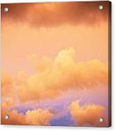 Before The Storm Clouds Stratocumulus 11 Acrylic Print