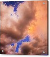Before The Storm Clouds Stratocumulus 5  Acrylic Print