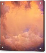 Before The Storm Clouds Stratocumulus 7 Acrylic Print