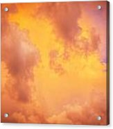 Before The Storm Clouds Stratocumulus 9 Acrylic Print