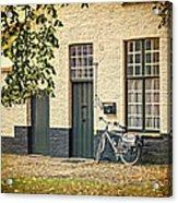 Begijnhof Bicycle Acrylic Print