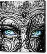 Behind Blue Eyes Acrylic Print