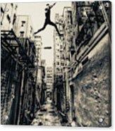Behind Street Acrylic Print