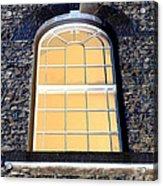 Behind That Window Acrylic Print
