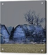 Behind The Barn Acrylic Print
