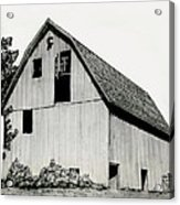 Behind The Barn Acrylic Print