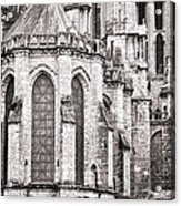 Behind The Cathedral Acrylic Print