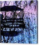Behind The Curtain Acrylic Print