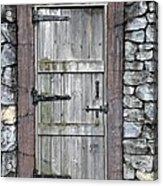 Behind The Door Acrylic Print