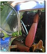 Behind The Driver's Seat Acrylic Print
