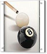 Behind The Eight Ball Acrylic Print