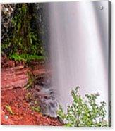 Behind The Falls Acrylic Print