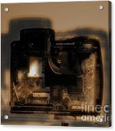 Behind The Lens  Acrylic Print