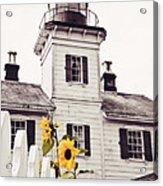 Behind The Lighthouse  Acrylic Print