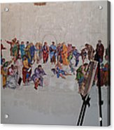 Behind The Scenes Mural 7 Acrylic Print