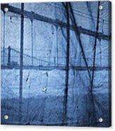 Behind The Veil - New York City Acrylic Print