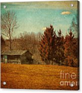Behind The Village Acrylic Print