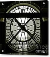 Behind Time Acrylic Print