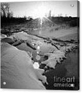 Behind Vancher Davidge Park Acrylic Print